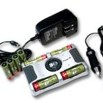 Combo: T-8000 4-Bay Smart Charger + 8 AA 2300mAh NiMH Rechargeable Batteries w/ 2 Free Cases
