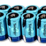 8pcs Tenergy D 10000mAh NiMH Rechargeable Batteries w/ Tabs