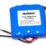 Tenergy Li-Ion 18650 14.8V 2200mAh Rechargeable Battery Pack w/ PCB Protection