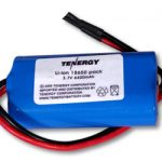 Tenergy Li-Ion 18650 3.7V 4400mAh Rechargeable Battery Module w/ PCB Protection