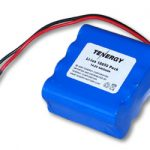 Tenergy Li-Ion 18650 14.8V 4400mAh PCB Protected Rechargeable Battery Pack w/ Bare Leads
