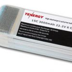 Tenergy 22.2V 3000mAh 15C LIPO 6 Cell Battery Pack