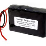 AT: Tenergy Li-Ion 18650 11.1V 10400mAh Rechargeable Battery Pack w/ PCB Protection (DGR-A)