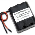 AT: Tenergy Li-Ion 18650 7.4V 6600mAh Rechargeable Battery Module w/ PCB Protection