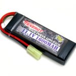 Tenergy LIPO 11.1V 1600mAh 20C Airsoft Battery Pack w/ Mini Tamiya Connector