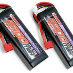 2 Packs: Tenergy 11.1V 2200mAh 25C LIPO Battery Packs w/ Deans Connectors