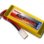 Tenergy 11.1V 3300mAh 25C LIPO 3 Cell Battery Pack w/ Tamiya Connector