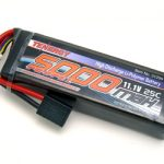 Tenergy 11.1V 5000mAh 25C LIPO Battery Pack for RC Cars w/ choices of Deans or Traxxas Connector