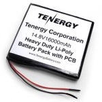AT: Tenergy 14.8V 16000mAh (75150168) Heavy Duty LIPO Pack w/ PCB Protection (DGR-A)