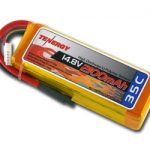 Tenergy 14.8V 2100mAh 35C LIPO 4 Cells Battery Pack w/ Deans
