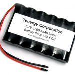 AT: Tenergy Li-Ion 3.7V 15600mAh Side-by-Side Battery Module w/ PCB Protection