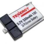 Tenergy 3.7V 250mAh 15C LIPO Battery for Eflite Blade Tandem