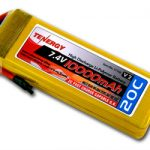 Tenergy 7.4V 10000mAh 20C LIPO Battery Pack for RC Car w/Deans connector (Limited Stock)