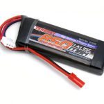 Tenergy 7.4V 850mAh 25C Li-Poly Battery Pack w/ JST for Helicopter
