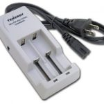 Tenergy Multifunctional Charger for Li-Ion Cylindrical Rechargeable Batteries (14500, 18500, 18650)