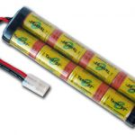 AT: Tenergy 9.6V 2200mAh High Power Flat NiCd RC Cars Battery Pack w/ Tamiya Connector