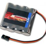 Tenergy 4.8V 2000mAh Receiver RX NiMH Battery Pack w/ Hitec connector for RC Cars and Airplanes