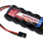 6V Tenergy 1600mAh NiMH Side by Side Battery Pack with Hitec Connector