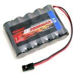 Tenergy 6V 2000mAh Side-by-Side RX Receiver NiMH Battery Pack w/ Hitec Connector for RC Aircrafts / Walking Robot