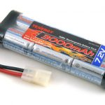 Tenergy 7.2V 3000mAh Flat High Power NiMH Battery Packs w/ Tamiya Connectors for RC Cars