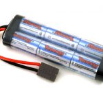 Tenergy 7.2V 3800mAh High Power Flat NiMH Battery Pack w/ Traxxas Connectors for RC Cars & Sumo Robots