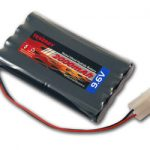 Tenergy 9.6V 2000mAh High Capacity NiMH Battery Pack for RC Car, Robots, Security