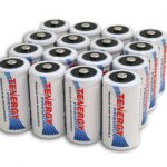 16pcs Tenergy Premium C 5000mAh NiMH Rechargeable Batteries