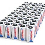 50pcs Tenergy Premium C 5000mAh NiMH Rechargeable Batteries