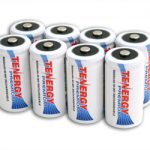 8pcs Tenergy Premium C 5000mAh NiMH Rechargeable Batteries