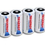 4pcs Tenergy Premium C 5000mAh NiMH Rechargeable Batteries