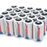 Combo: 20pcs Tenergy Premium D 10000mAh NiMH Rechargeable Batteries