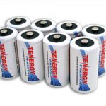 Combo: 8pcs Tenergy Premium D 10000mAh NiMH Rechargeable Batteries