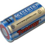 Tenergy Propel Sub C 3800mAh NiMH Flat Top Rechargeable Battery