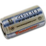 Tenergy Propel Sub C 4600mAh NiMH Flat Top Rechargeable Battery