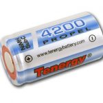 Tenergy Propel Sub C 4200mAh NiMH Flat Top Rechargeable Battery