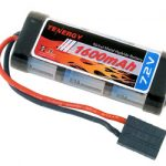 Tenergy 7.2V 2/3A 1600mAh Flat NiMH Battery Packs w/ Traxxas Connector for 1/18 & 1/16 scale Cars/Trucks