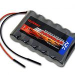 Tenergy 7.2V 2000mAh Side-by-Side NiMH Battery Pack w/ Bare Leads