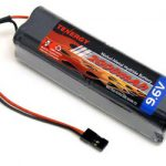 Tenergy 9.6V 2000mAh Square Futaba NT8S600B Transmitter Battery Pack for RC Airplanes and Cars