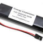 AT: 4.8V 2000mAh Flat NiMH Battery with Hitec Connector