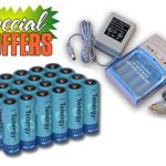 Combo: Tenergy T-1000 Smart AA/AAA NiMH/NiCd Battery Charger + 24 AA 2600mAh NiMH Rechargeable Batteries