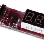 Cell Spy lipo voltage tester (2S to 6S)