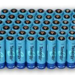 60pcs Tenergy AA 2600mAh NiMH Rechargeable Batteries