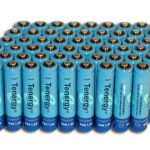Combo: 60pcs Tenergy AAA 1000mAh NiMH Rechargeable Batteries
