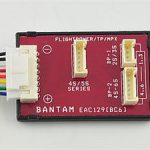 Bantam e-Station EAC129 ThunderPower/FlightPower Wiring Harness for Two-Meter, PB-6 & BC-5, BC-6, BC6-10 only